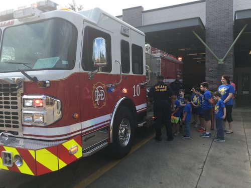 Wolf Fire Station Visit 2017