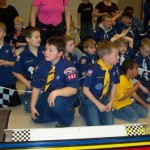 Wolves at the Pinewood Derby